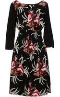 Prada Knee-length Dress - Lyst