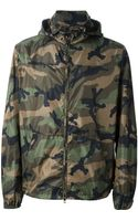 Valentino Camouflage Jacket - Lyst