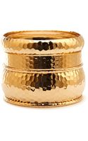 Forever 21 Standout Dimpled Bangle Set - Lyst