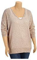 Old Navy Plus Lightweight Slubknit Tunic Sweaters - Lyst