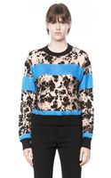 Alexander Wang Tie Dye Burn Out Sweater - Lyst