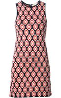Vanessa Bruno Geometric Print Dress - Lyst