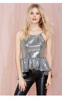 Nasty Gal Frisky Disco Sequin Top - Lyst