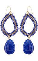 Panacea Wire-wrapped Crystal-drop Earrings - Lyst