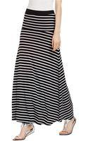 BCBGMAXAZRIA Karolin Wide Banded Full Rib Skirt - Lyst
