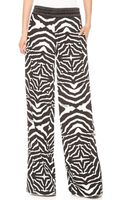 Just Cavalli Wide Leg Pants - Lyst