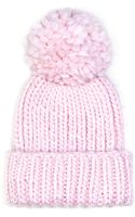 Eugenia Kim Rain Knit Hat with Pompom - Lyst