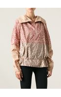 Adidas By Stella Mccartney Animal Print Track Jacket - Lyst