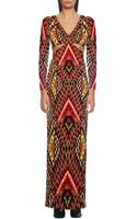 Mara Hoffman Deep V Side Cutout Maxi Dress - Lyst