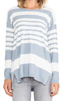 Vince Striped Sweater - Lyst