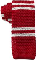 Tommy Hilfiger Double Stripe Knit Slim Tie - Lyst