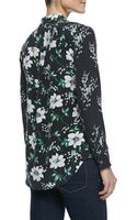 Equipment Slim Signature Floralprint Blouse - Lyst