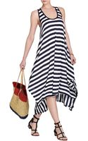 BCBGMAXAZRIA Mylene Handkerchief Hem Knit Dress - Lyst