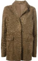 Liska Textured Coat - Lyst