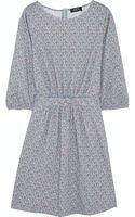 A.P.C. Atelier De Production Et De Création Flore Printed Cotton-jersey Mini-dress - Lyst
