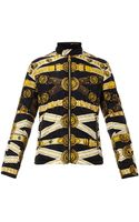 Versus  Chain-print Padded Jacket - Lyst