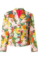 Kenzo Vintage Floral Print Jacket - Lyst