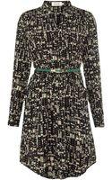 Louche Block Print Shirt Dress - Lyst