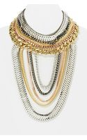Nasty Gal Total Royal Necklace - Lyst