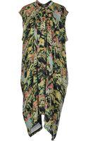 Kenzo Kneelength Dress - Lyst