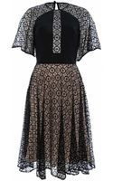 Temperley London Panelled Folk Lace Dress - Lyst