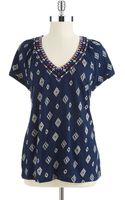 Lucky Brand Soiree Top - Lyst