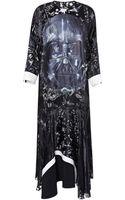 Preen By Thorton Bregazzi Ewa Dress with Darth Vader - Lyst