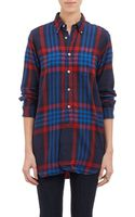 Engineered Garments Plaid Flannel Shirt - Lyst