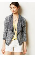 Saturday/sunday Draped Moto Jacket - Lyst
