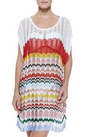 Missoni Wide-stitch Knit Coverup - Lyst