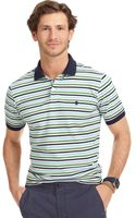 Izod Feeder Striped Pique Polo - Lyst