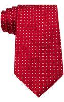 Tommy Hilfiger Red Dots Tie - Lyst