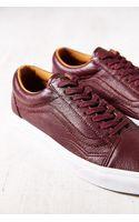 Vans Premium Leather Old Skool Womens Low-top Sneaker - Lyst