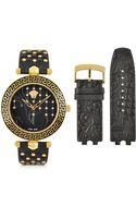 Versace Vanitas Black Womens Watch - Lyst