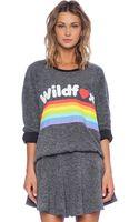 Wildfox Dreams Come True Sweatshirt - Lyst