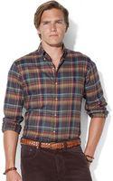 Polo Ralph Lauren Plaid Twill Shirt - Lyst