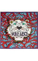 Kenzo Tigerprint Silk Scarf - Lyst