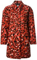 Opening Ceremony Geometric Pattern Coat - Lyst