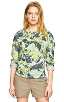 Gap Printed Shrunken Sweatshirt - Lyst