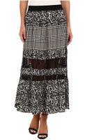 MICHAEL Michael Kors Lazio Pcd Maxi Skirt - Lyst