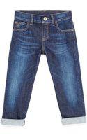 Gucci Stretch-denim Jeans - Lyst