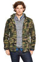 Gap Military Shirt Jacket - Lyst