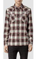 AllSaints Jericho Shirt - Lyst