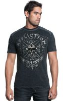 Affliction Death Cross Graphic Tshirt - Lyst