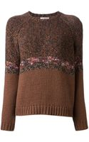 Brunello Cucinelli Knit Sweater - Lyst