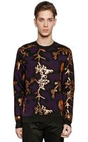Kenzo Monster Printed Wool Jacquard Sweater - Lyst