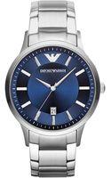 Emporio Armani Unisex Stainless Steel Bracelet Watch 43mm - Lyst