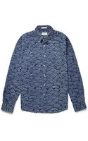 Gant Rugger Printed Buttondown Collar Cotton Shirt - Lyst