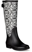 DKNY Field Rubber Rain Boot - Lyst