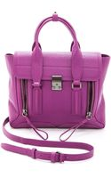 3.1 Phillip Lim Pashli Medium Satchel Orchid - Lyst